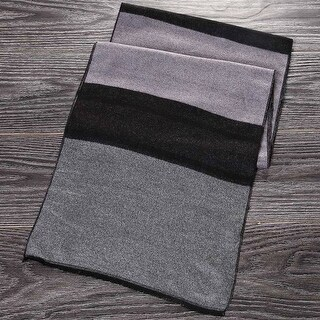 Mad Style Grey Flannel Pashmina Men's Scarf
