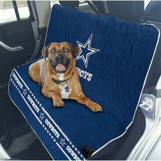 Pets First NFL Dallas Cowboys Pet Car Seat Cover