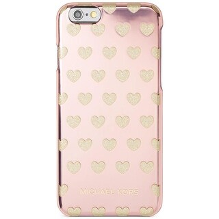 Michael Kors Womens I Love Mom Cell Phone Case iPhone 6 Glitter