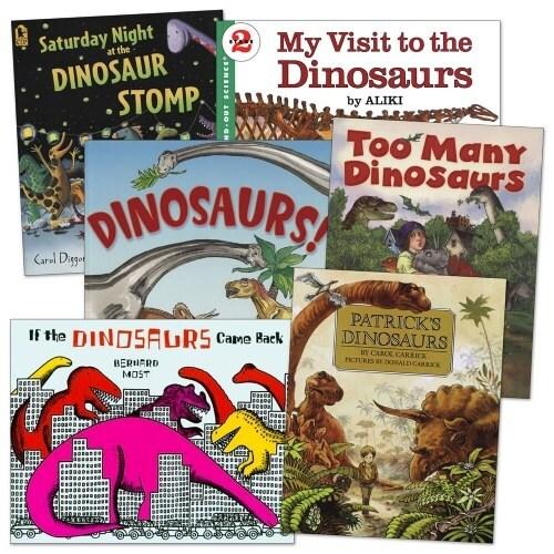 Dinosaur Books - Set of 6