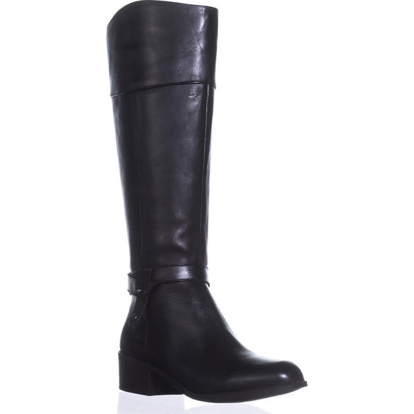 A35 Berniee Riding Boots, Black - 9 us