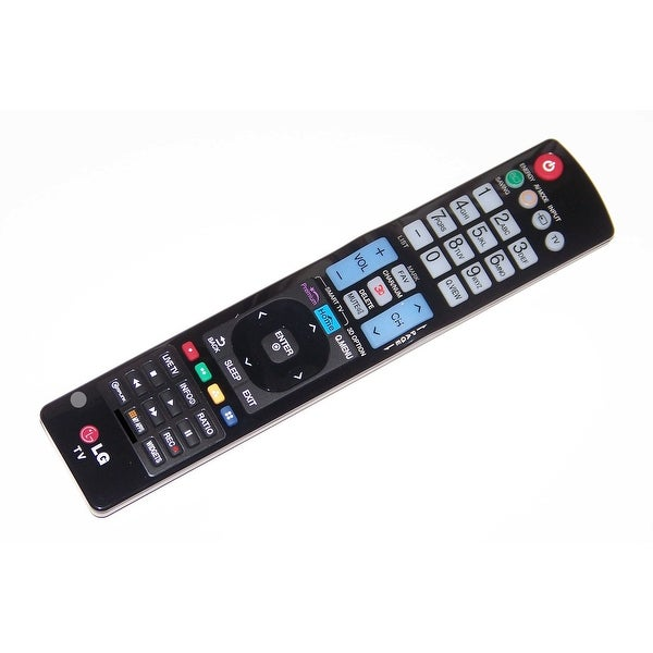 OEM LG Remote Control Originally Shipped With: 32LH20-UA, 32LH30, 32LH200C, 32LH200C-UA, 37LH200C, 37LH200C-UA