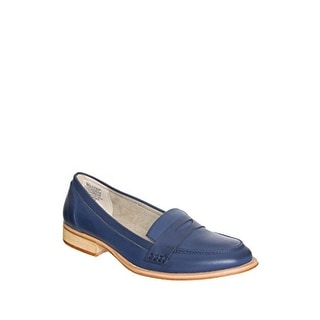 Wanted Campus Women Round Toe Leather Loafer