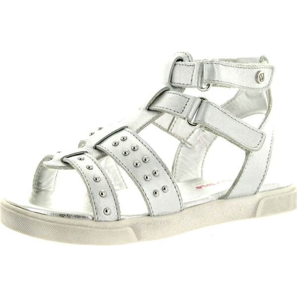 Naturino Girls 2049 Fashion Gladiator Sandals - argento