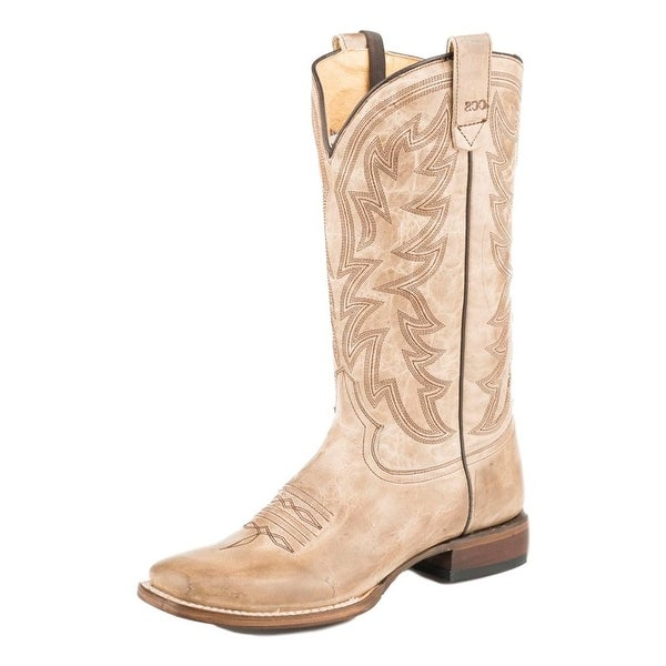Roper Western Boots Womens Sense 1 Concealed Tan