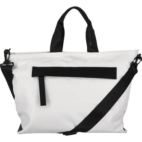 Tahari Perry Women's Contrast Trim Convertible Tote Handbag - Large