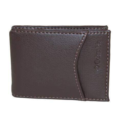 39b4d40c3432 Columbia Men's RFID Protected Front Pocket Wallet With Money Clip - one size