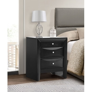 Link to Marilla 3-drawer and Wood Nightstand Similar Items in Bedroom Furniture