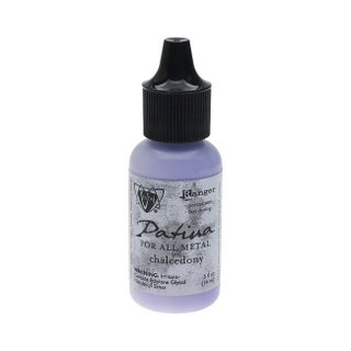 Vintaj Patina, Opaque Permanent Ink For Metal, 0.5 Ounce, Chalcedony