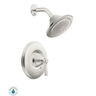 Moen TS2212EP Single Handle Posi-Temp Pressure Balanced Shower Trim with Shower Head from the Rothbury Collection (Less Valve)