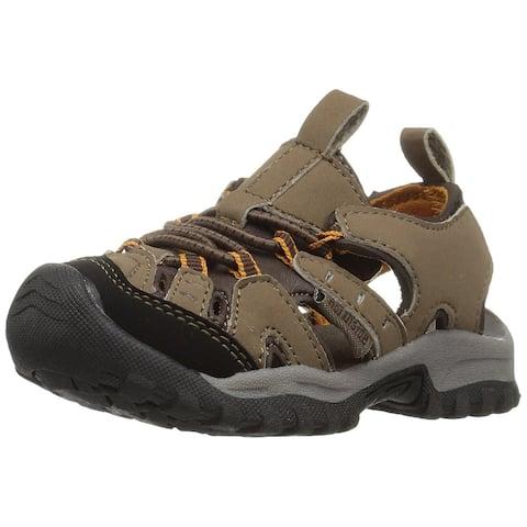 Kids Northside Boys Burke II Pull On Fisherman Sandals