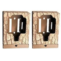 (2) Browning Trail Camera Security Box - BTCSB - Camouflage