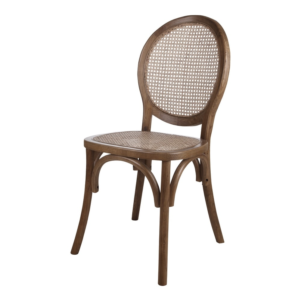 Aurelle Home Aurelle Home Mid Century Modern Rattan Dining Chair (Set of 2) (Set of 2 Dining Height) from | Daily Mail