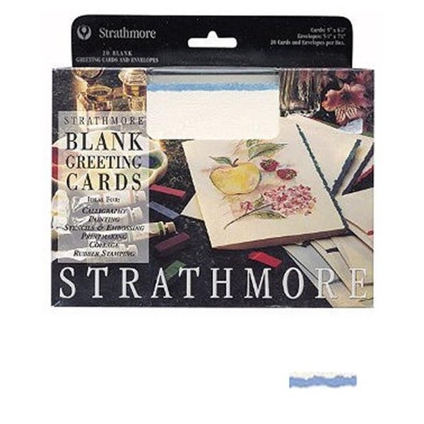 Strathmore blank greeting cards deckle edge white with blue deckle strathmore blank greeting cards deckle edge white with blue deckle m4hsunfo