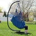 Sunnydaze Jumbo Hanging Chair Hammock Swing - Thumbnail 6