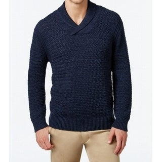 Tommy Bahama Men Pullover Knitted Shawl Collar Sweater