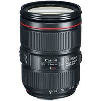Canon EF 24-105mm f/4L IS II USM Lens (International Model) - black