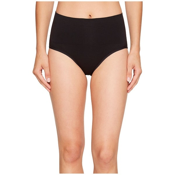 5fb485e69fe2d Shop Yummie Solid Black Womens Size 3X Shaping Briefs Stretch Underwear -  Free Shipping On Orders Over  45 - Overstock.com - 21267209