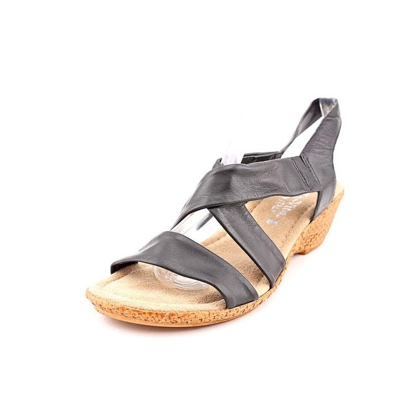 Bella Vita Ciao N/S Open Toe Leather Wedge Sandal
