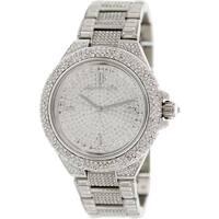 Michael Kors Women's Camille  Silver Stainless-Steel Quartz Fashion Watch
