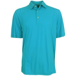 Greg Norman Men's Weather Knit Polo Golf Shirt, Brand New