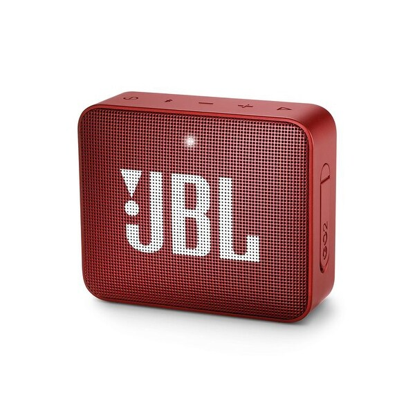 JBL Go 2 Red Portable Bluetooth Speaker