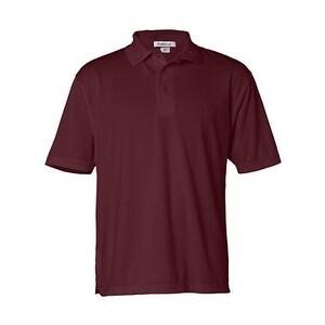 FeatherLite Moisture Free Mesh Sport Shirt - Maroon - S