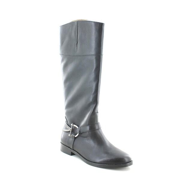 Ralph Women's Parker 6 Black Boots Shop Lauren 5 Polo Free IH9YW2eEbD