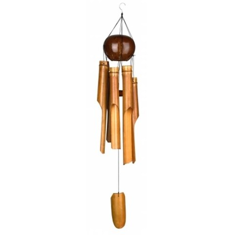 Woodstock Chimes WOODC200 Whole Coconut Chime - Large