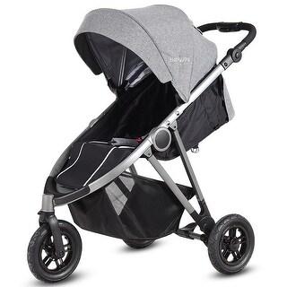 Portable Folding Aluminum Baby Stroller Buggy Kids Travel Pushchair City Jogger