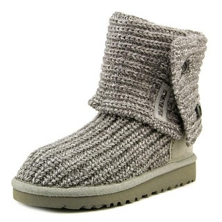 Ugg Australia Cardy Toddler Round Toe Canvas Gray Winter Boot