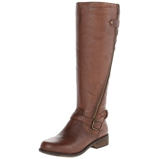 Steve Madden Women's Syniclew Wide-Calf Riding Boot