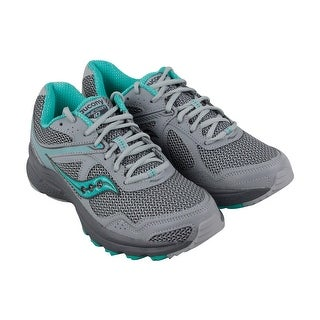 Saucony Grid Cohesion Tr 10 Womens Gray Synthetic & Mesh Athletic Running  Shoes