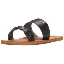Roxy Womens Tess Open Toe Casual Slide Sandals
