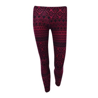 Ultra Flirt Juniors Printed Soft Knit Leggings