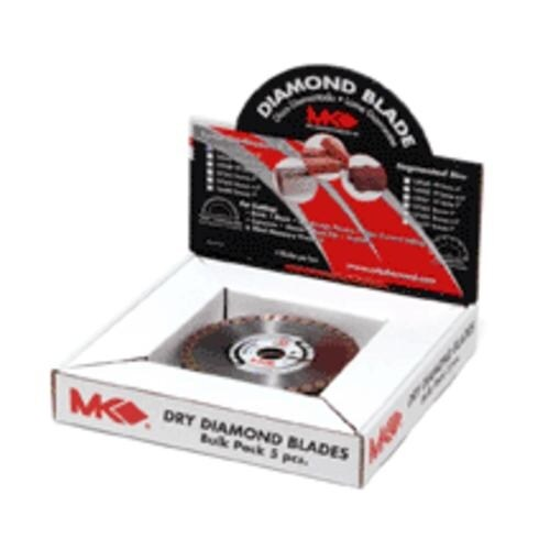 "Mk Diamond 167042 Contractor Turbo Rim Blade, 4"" x 5/8"""