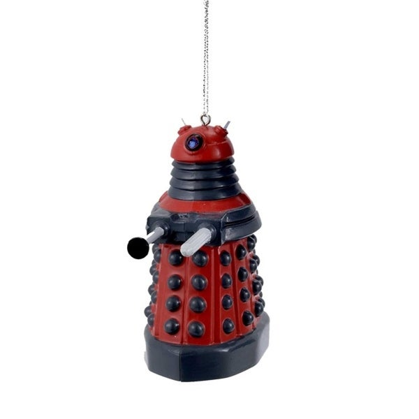 "3.75"" Dr. Who Dalek Cyborg Science Fiction Christmas Ornament"