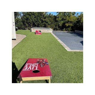 Captain Morgan Regulation Outdoor Cornhole Game Set - Red - 24 x 48