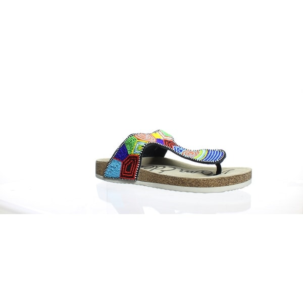 deb8cae6d9f2 Shop Sam Edelman Womens Olivie Blue Multi Slides Size 9 - On Sale ...