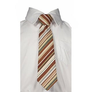 Little Things Mean A Lot Little Boys Red Black Dots Tie
