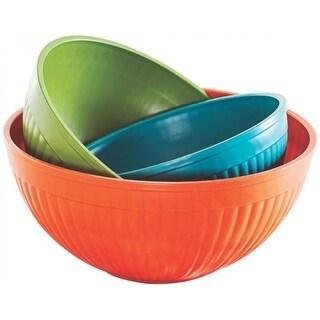 Nordic Ware 60039 Prep & Serve Mixing Bowls, Set Of 3, Assorted Colors