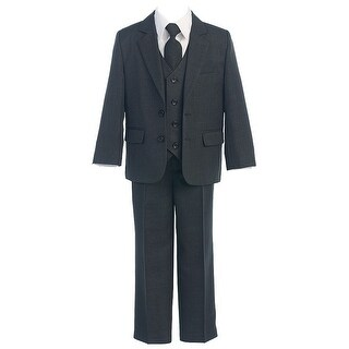 Sweet Kids Charcoal 5pc Easter Special Occasion Formal Suit Boys 3M-3T