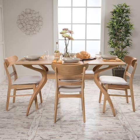 Carson Carrington Ballerup Rectangular 5-piece Dining Set by