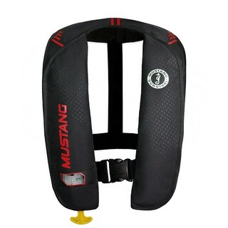 Mustang MD2014/02-BK/RD MIT 100 Inflatable Manual PFD