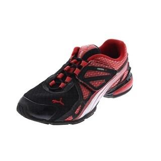 Puma Boys Athletic Shoes Patent Trim