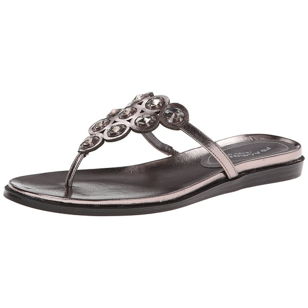 Kenneth Cole Reaction Women's Net Keeper Thong Sandals
