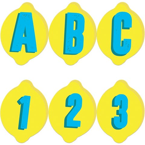 Always Try Your Zest Deco Letters, 243 Per Pack, 3 Packs