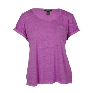 Style & Co. Women's Pocketed Cotton Blend Top
