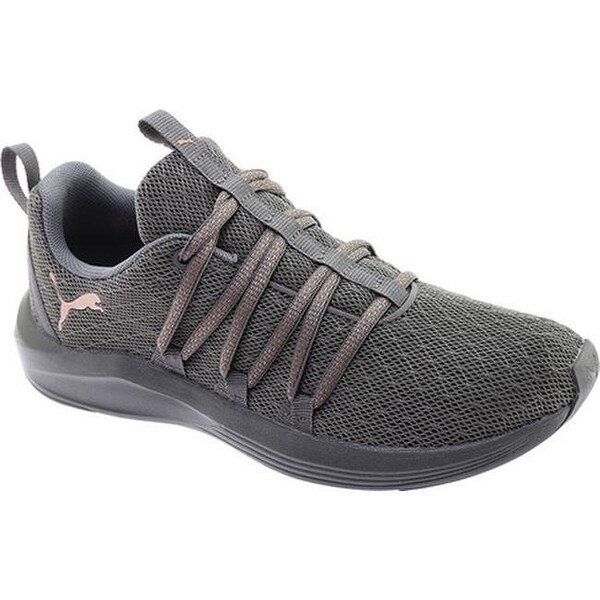 Shop PUMA Women's Prowl Alt Knit Mesh Trainer Quiet Shade
