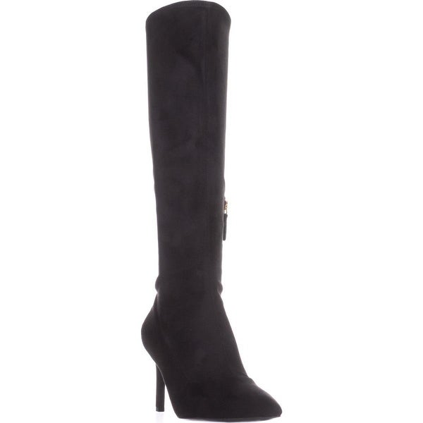 Nine West Knee High Stiletto Boots, Black